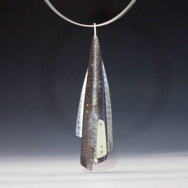 Deb Karash copper pendant