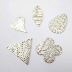 Beginners Metal Clay Taster class projects