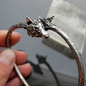 Silver and Metal Clay Bracelet with Iwona Tamborska