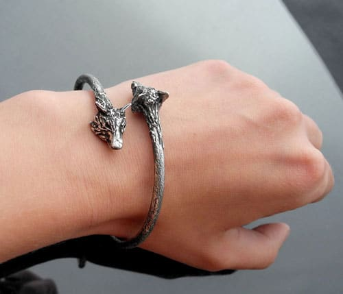 Animal bracelets by Iwona Tamborska