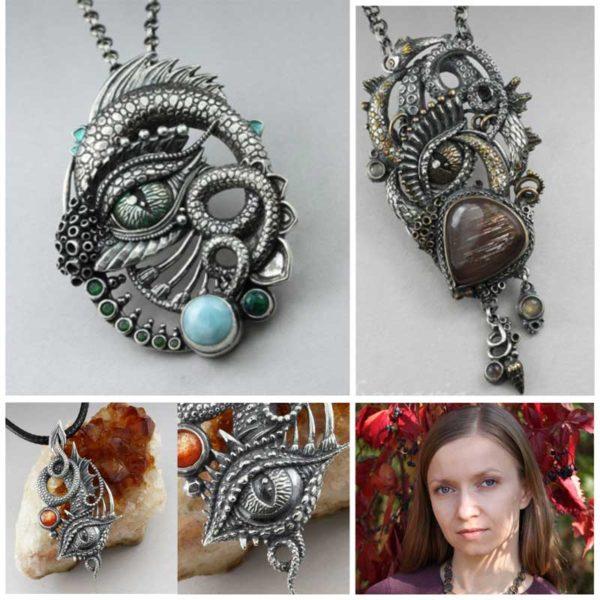 Fantasy eye with Anna Mazon