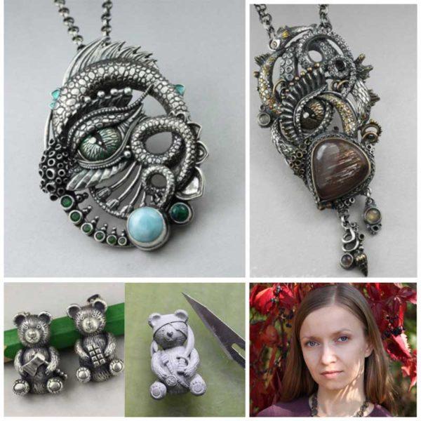 Fantasy eye and teddy bundle with Anna Mazon