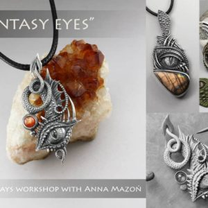 Fantasy Eye Pendant with Anna Mazoń
