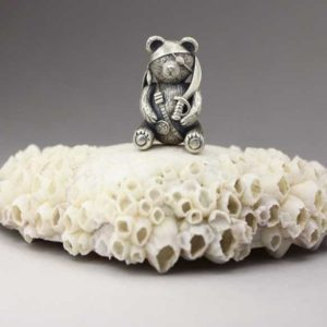 Miniature Teddy Bear with Anna Mazon
