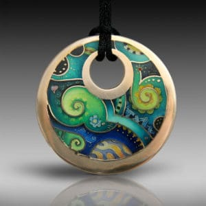 Cold-enamel Champlevé Master Class with Liz Sabol – 25th-29th October 2021