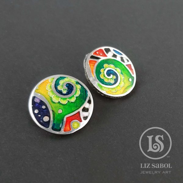 Liz Sabol earrings