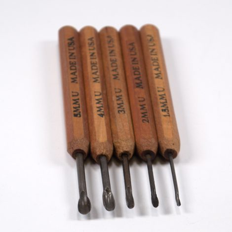 Dockyard Micro Carving Gouges