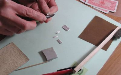 Taster metal clay classes in progress